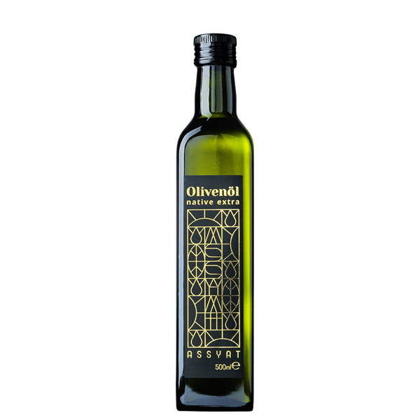 Assyat Olivenöl Mühle 500ml