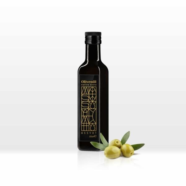 native extra olivenöl 250ml assyat